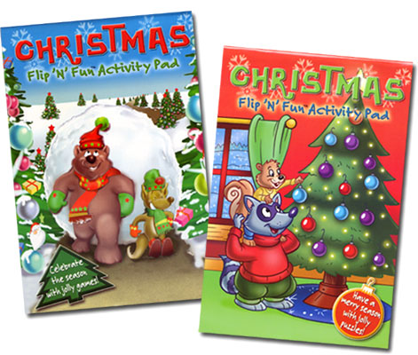 Christmas Flip 'N' Fun Activity Pad
