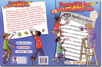 Funny Fill-ins Sticker Activity Book