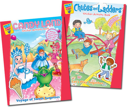 My First Games Sticker Activity Books